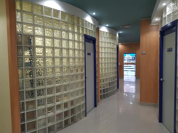 Interior clinica dental aranjuez